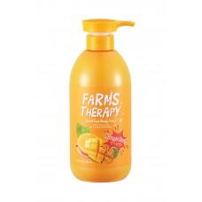 Гель для душа МАНГО / [DAENG GI MEO RI] FARM'S THERAPY Sparkling Body Wash MANGO RUSH 700ml
